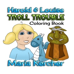 Troll Trouble Coloring Book