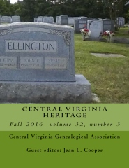 Central Virginia Heritage Fall 2016