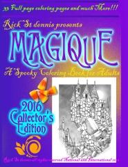 MAGIQUE - a spooky adult coloring book