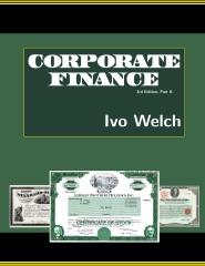 corporate finance, third edition, I-III