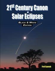 21st Century Canon of Solar Eclipses - Black & White Edition