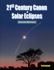 21st Century Canon of Solar Eclipses - Color Edition