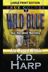 Wild Blue (large print)