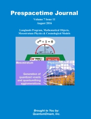 Prespacetime Journal Volume 7 Issue 11