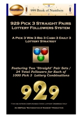 929 Pick 3 Straight Pairs Followers System