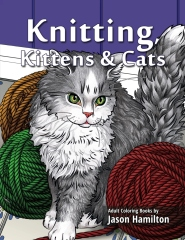 Knitting, Kittens & Cats
