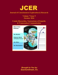 Journal of Consciousness Exploration & Research Volume 7 Issue 9