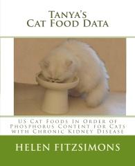 Tanya's Cat Food Data