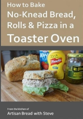 How to Bake No-Knead Bread, Rolls & Pizza in a Toaster Oven