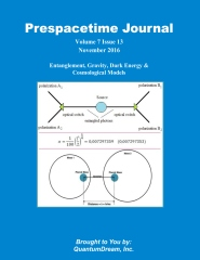 Prespacetime Journal Volume 7 Issue 13