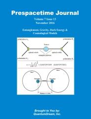Prespacetime Journal Volume 7 Issue 13