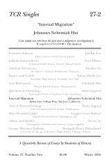 TCR Singles 27-2 Internal Migration