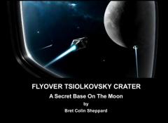 Flyover Tsiolkovsky Crater