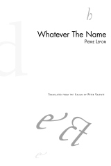 Whatever The Name