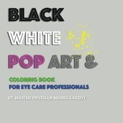 Black White Pop Art