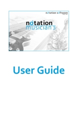 notation musician 3 Users Guide