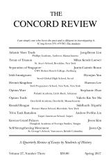 The Concord Review: V27, No. 3, Spring