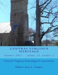 Central Virginia Heritage Summer 2017