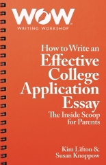 How to Write an Effective College Application Essay