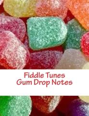 Fiddle Violin Sheet Music - Gum Drop Notes