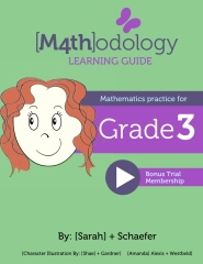 [M4th]odology Learning Guide Mathematics Practice for Grade 3