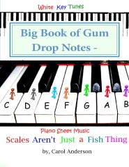 Big Book of Gum Drop Notes - Pre-twinkle Level Piano Sheet Music