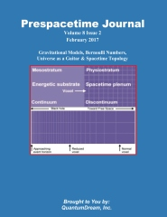 Prespacetime Journal Volume 8 Issue 2