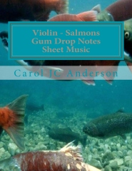 Violin - Salmons Gum Drop Notes Sheet Music