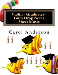 Violin - Graduates - Gum Drop Notes Sheet Music