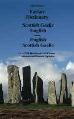 Faclair Dictionary Scottish Gaelic - English / English - Scottish Gaelic