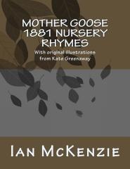 Mother Goose 1881 Nursery Rhymes
