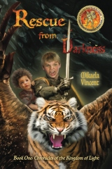 Rescue from Darkness (MV best seller Christian fantasy novel; Kings kids fight evil dragons atop killer cobra, unicorn pegasus, horses, warrior cats, fantastic beasts; good books for kids teens middle school homeschool, magic journey from house by tree)