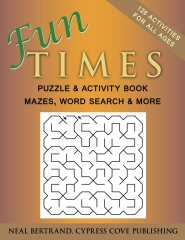 Fun Times Puzzle and Activity Book