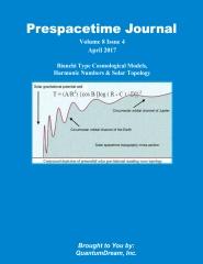 Prespacetime Journal Volume 8 Issue 4