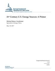 21st Century U.S. Energy Sources