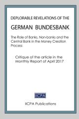 Deplorable Revelations of the German Bundesbank