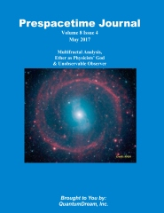 Prespacetime Journal Volume 8 Issue 5