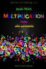 Basic Math Multiplication Tables with Worksheets