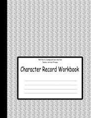 Character Record Workbook
