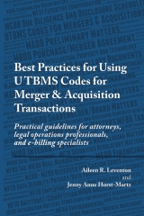 Best Practices for Using UTBMS Codes for Merger & Acquisition Transactions