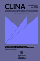 CLINA. An Interdisciplinary Journal of Translation, Interpreting and Intercultural Communication